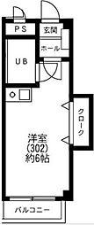東京都世田谷区祖師谷3丁目の賃貸マンションの間取り