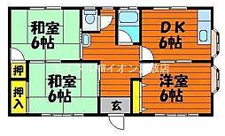 [一戸建] 岡山県倉敷市上富井丁目なし の賃貸【/】の間取り