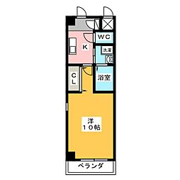 プルミエコート[3階]の間取り