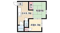 伊東荘[103号室]の間取り
