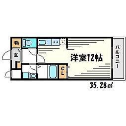 セイバリー尼崎[3階]の間取り
