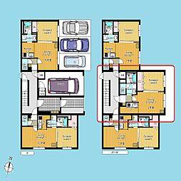 札幌市営南北線 北34条駅 徒歩1分の賃貸マンション 4階1LDKの間取り