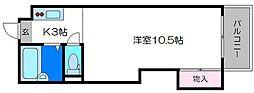 東洋プラザ桜ノ宮[3階]の間取り