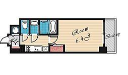 エスリード京橋[707号室号室]の間取り