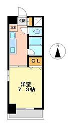 リヴェール白壁[4階]の間取り