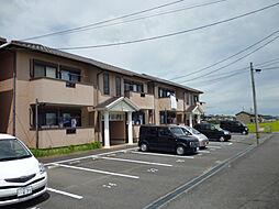 三重県津市一志町田尻の賃貸アパートの外観