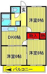 マンション小澤[101号室]の間取り