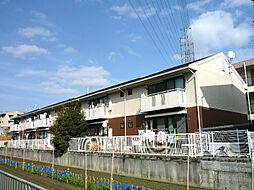 大阪府高槻市芝生町3丁目の賃貸アパートの外観
