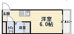 寺沢ビル[4階]の間取り