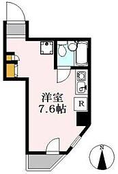 メゾンブランシュ[4階]の間取り