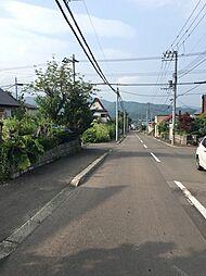 前面道路 東側
