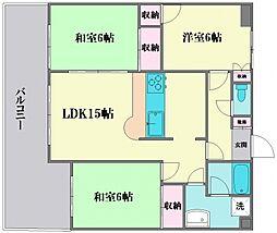 ウェルビーイングマンション[202号室]の間取り