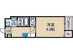 ローズミード総持寺[1階]の間取り