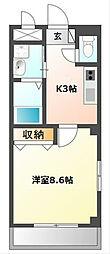愛知県名古屋市南区道徳新町2丁目の賃貸マンションの間取り