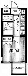 VIVRE横浜白楽壱番館[3階]の間取り
