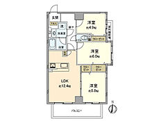 ~ 新規内装リノベーション物件 南バルコニー・南東角部屋 フラット35・ローン控除適合 家具付き販売 ローン控除適合 ~