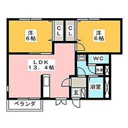キッズタウン1[1階]の間取り