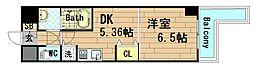 KWレジデンス九条III[7階]の間取り