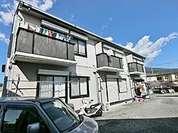 静岡県富士市境の賃貸アパートの外観