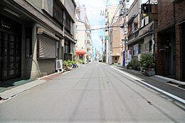 前面道路の写真