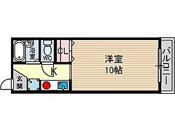 G1-Z2[4階]の間取り