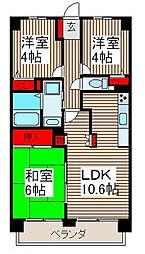 マ・メゾン寿[5階]の間取り