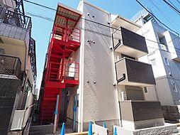 東京都練馬区北町1丁目の賃貸アパートの外観