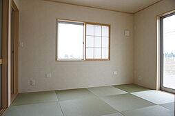 6帖の和室。