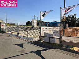 愛知県名古屋市緑区鳴海町字明願の賃貸アパートの外観