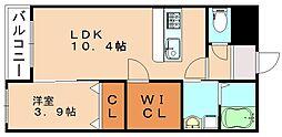ARCBLISS飯塚[4階]の間取り