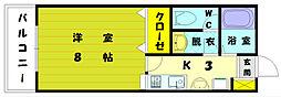 イデアハイツ5[2階]の間取り