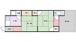 [一戸建] 大阪府枚方市東香里元町 の賃貸【/】の間取り