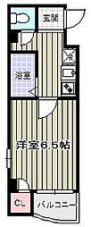 オーキッドコート阿倍野橋/[7階]の間取り