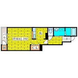 メゾン・ソレイユII[1階]の間取り