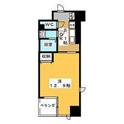 ビッグ・ビー宇都宮[6階]の間取り