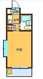 パークアベニュー国分寺21[2階]の間取り