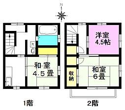 [テラスハウス] 東京都八王子市元本郷町3丁目 の賃貸【/】の間取り
