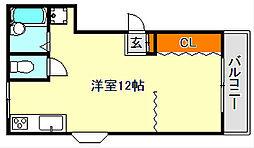 水笠ハイツ[2階]の間取り