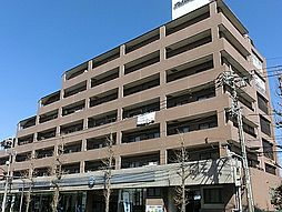 東京都練馬区高松の賃貸マンションの外観