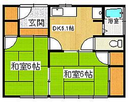 [一戸建] 静岡県三島市青木 の賃貸【/】の間取り
