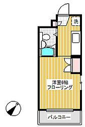 ラフィネ北赤羽[1階]の間取り