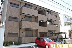 大阪府大阪市平野区背戸口3丁目の賃貸アパートの外観