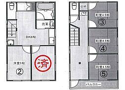 新宿シェアハウス[4号室]の間取り
