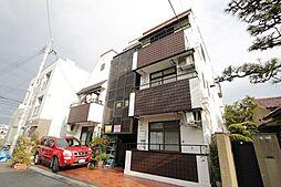 兵庫県西宮市甲子園六番町の賃貸マンションの外観