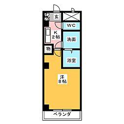 セレッソII[2階]の間取り