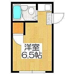 ハイツ西賀茂[301号室]の間取り