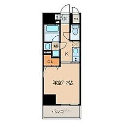 プレミアム黒川[9階]の間取り