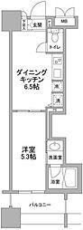 パークフラッツ横濱公園[5階]の間取り