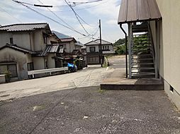 前面道路と現地