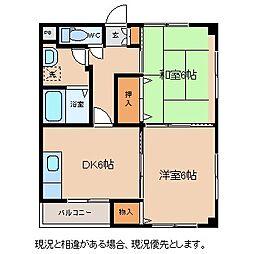 財形地産ビル[2階]の間取り